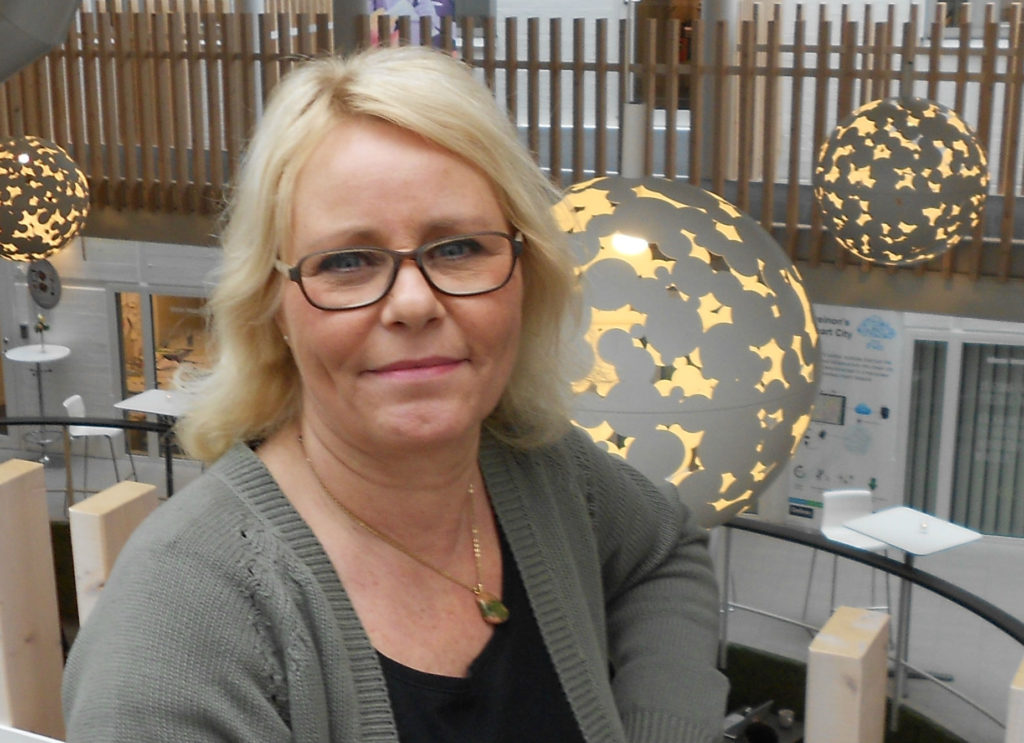 Administratör Edith Nykjär