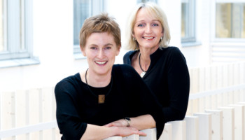 Annica Gilbertsson och Carin Gath, Foto: Kennet Ruona
